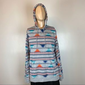 On the Byas Hoodie Size Large